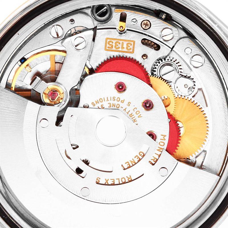 Rolex Datejust Steel Yellow Gold Diamond Dial Unisex Watch 16233 Box Papers SwissWatchExpo