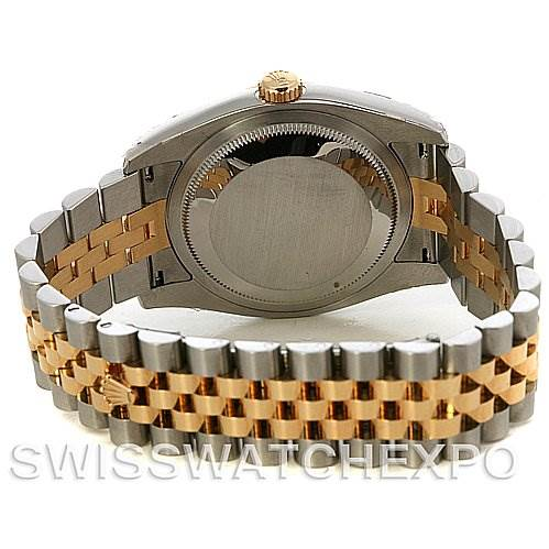 2521 Rolex Datejust Mens Ss 18k Yellow Gold 116233 Yr 2011 SwissWatchExpo