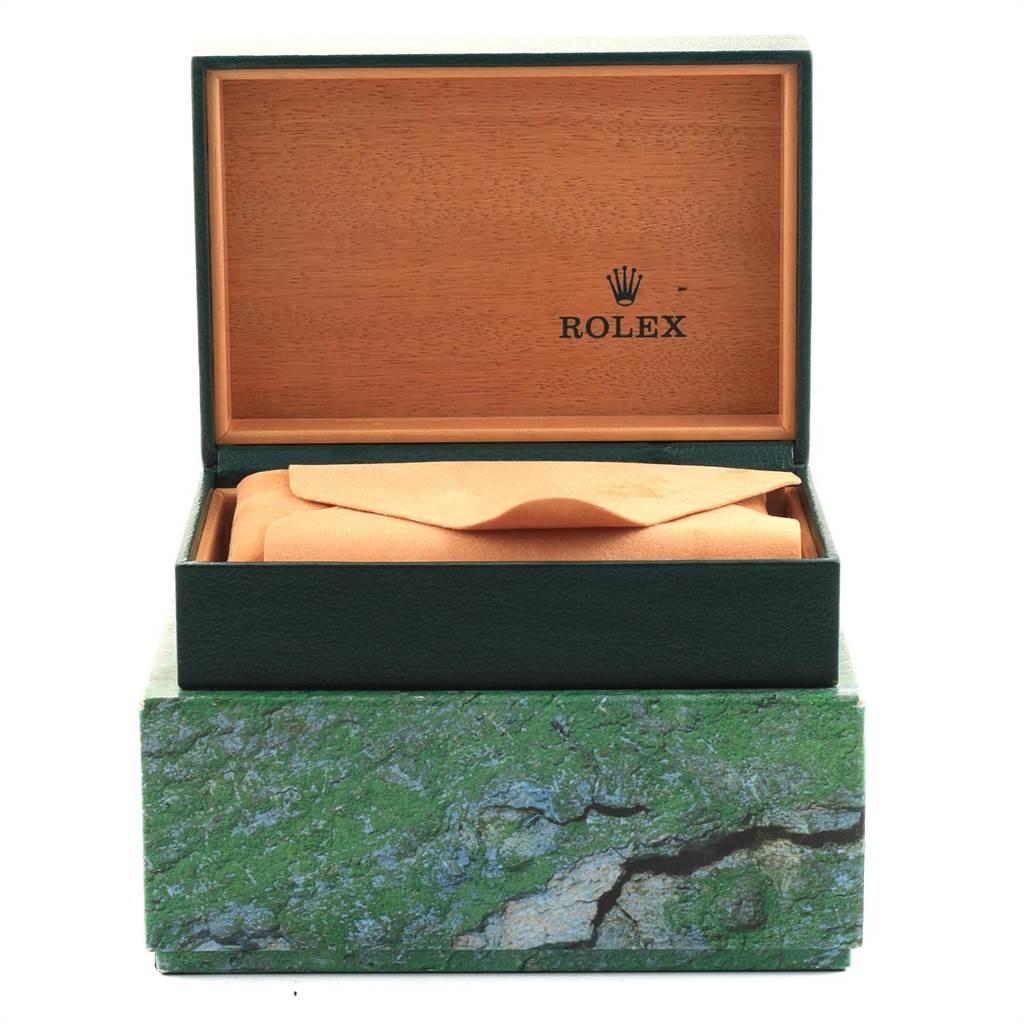 22486 Rolex Datejust Steel 18K Yellow Gold White Dial Mens Watch 16233 SwissWatchExpo