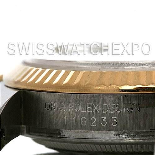 2534 Rolex Datejust Mens Ss 18k Yellow Gold 116233 Yr 2006 SwissWatchExpo