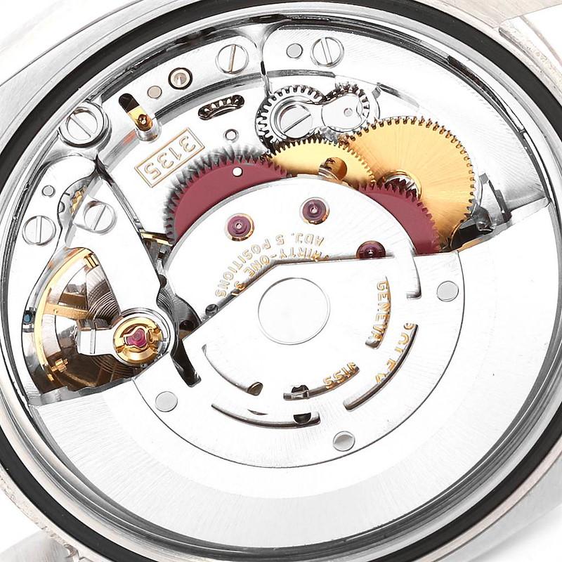Rolex Datejust 36 Steel White Gold Black Diamond Dial Mens Watch 116234 SwissWatchExpo
