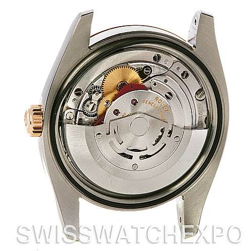 2577 Rolex Datejust Mens Ss 18k Rose Gold 116231 Yr 2010 SwissWatchExpo