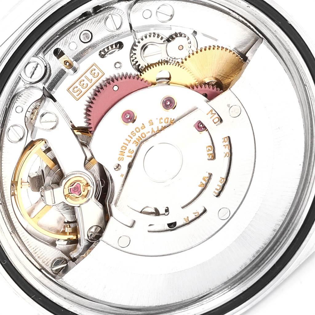23935 Rolex Datejust Steel Yellow Gold Roman Dial Mens Watch 16233 SwissWatchExpo