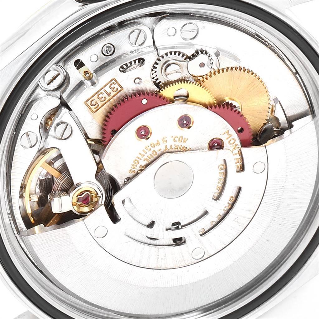 Rolex Datejust Steel Yellow Gold Diamond Vignette Dial Mens Watch 16233 SwissWatchExpo