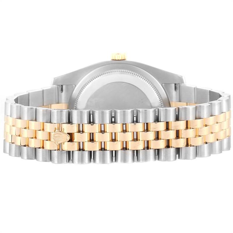 Rolex Datejust 36 Steel Yellow Gold Diamond Mens Watch 116243 Partial Payment SwissWatchExpo