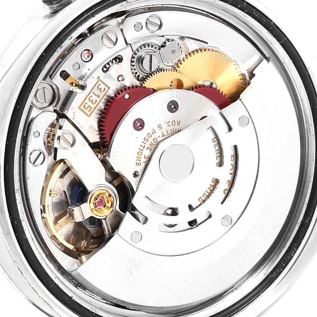 Rolex Datejust Blue Roman Dial Domed Bezel Steel Mens Watch 116200 SwissWatchExpo