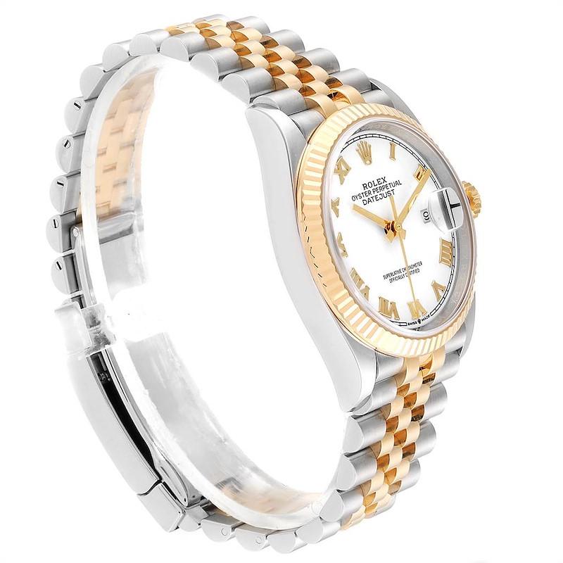 Rolex Datejust Steel Yellow Gold Jubilee Bracelet Mens Watch 126233 SwissWatchExpo