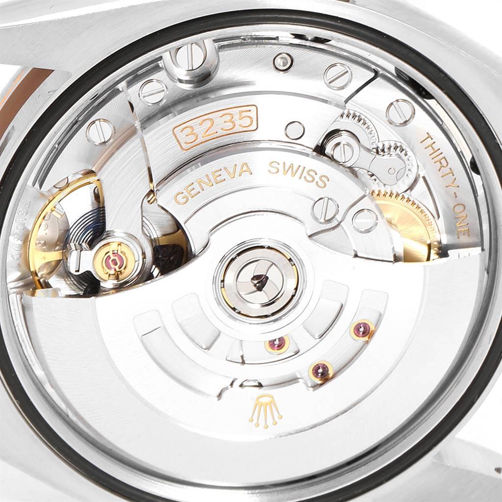 Rolex Datejust 36 Steel EveRose Gold Diamond Watch 126231 Box Card SwissWatchExpo
