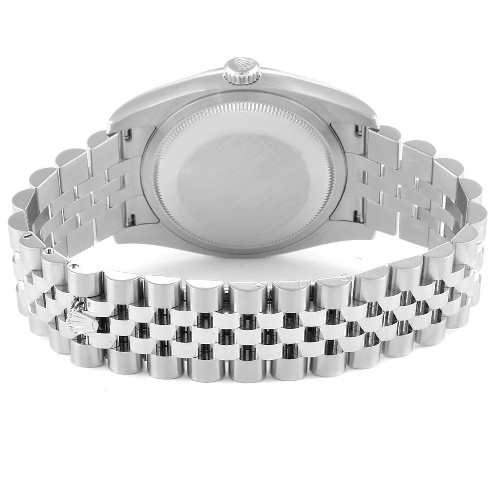 Rolex Datejust 36 Mother of Pearl Diamond Unisex Watch 116234 SwissWatchExpo
