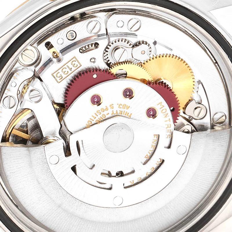 Rolex Datejust Steel Yellow Gold Diamond Mens Watch 16233 Box Papers SwissWatchExpo