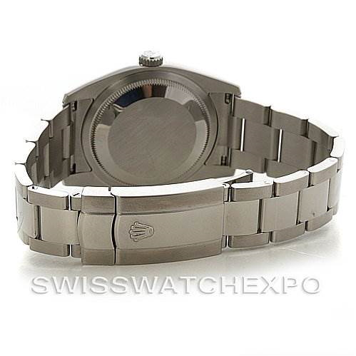 Rolex MEN SS ROLEX DATEJUST WATCH 116200 YEAR 2008 BOX PAPERS SwissWatchExpo