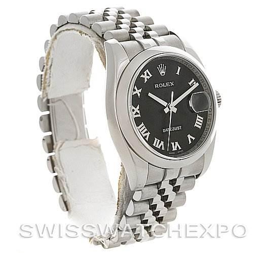 2752 Rolex Datejust Men Steel Watch 116200 Year 2007 Box Papers SwissWatchExpo