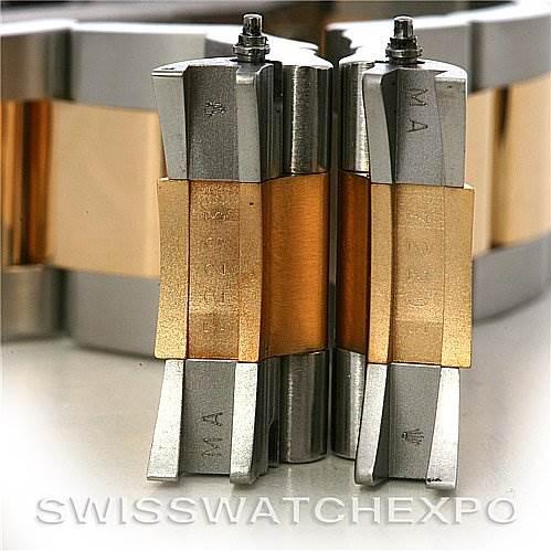 ROLEX  DATEJUST MENS SS 18K Y GOLD 116203 YR 2006 w BOX SwissWatchExpo