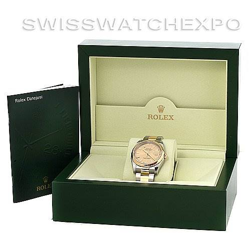 2761 ROLEX  DATEJUST MENS SS 18K Y GOLD 116203 YR 2006 w BOX SwissWatchExpo