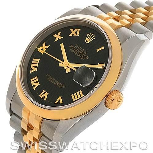 2788 Rolex Datejust Mens Steel 18k Yellow Gold 116203 Year 2006  SwissWatchExpo