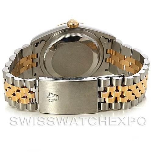 2936 Rolex Datejust Steel and Gold Diamond Dial watch 16233 SwissWatchExpo
