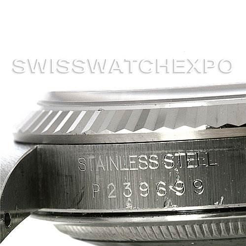 2995 Mens Rolex Datejust Steel 18K White Gold Watch 16234 SwissWatchExpo