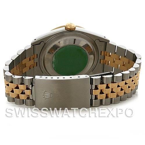 3016 Rolex Datejust Steel and 18k yellow gold watch 16233 SwissWatchExpo