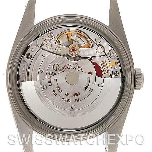 4055 Rolex Datejust Mens Steel Silver Dial 16220 Unworn NOS SwissWatchExpo