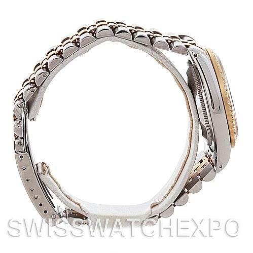 Rolex Datejust Steel 18k yellow gold watch 16233 SwissWatchExpo