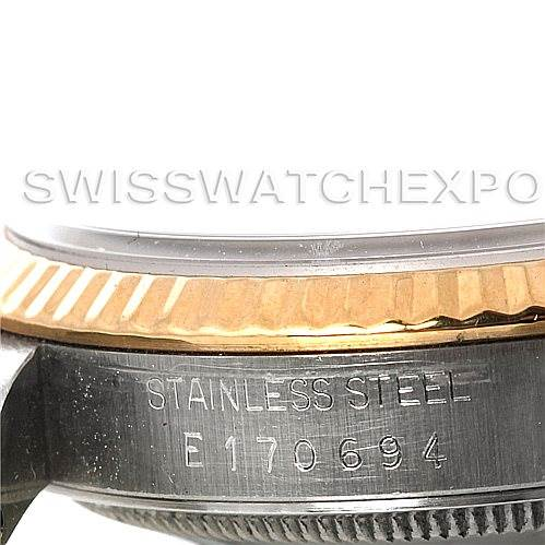 Rolex Datejust Steel 18k yellow gold watch 16233 SwissWatchExpo