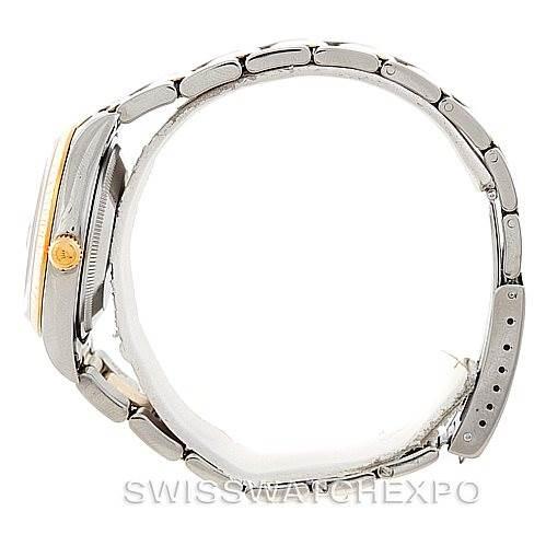 Rolex Date Mens Steel and 18k Yellow Gold Watch 15223 SwissWatchExpo