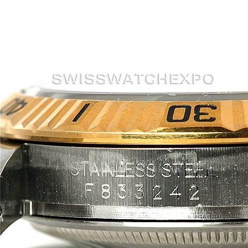 Rolex Thunderbird Turnograph Steel 18k Yellow Gold Watch 116263 SwissWatchExpo