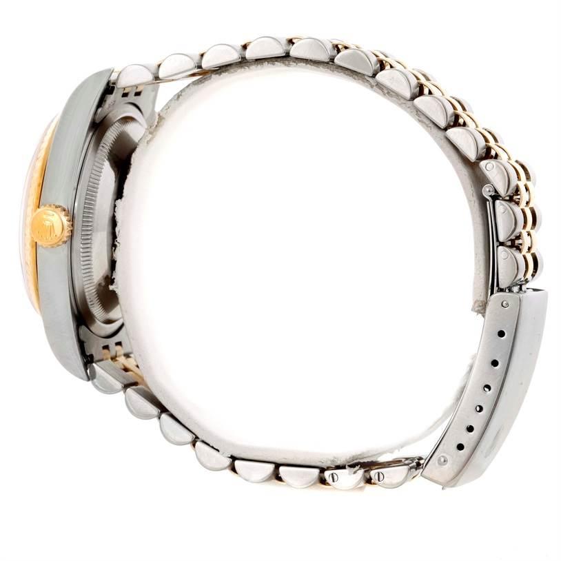 rolex datejust steel 18k yellow gold jubilee bracelet
