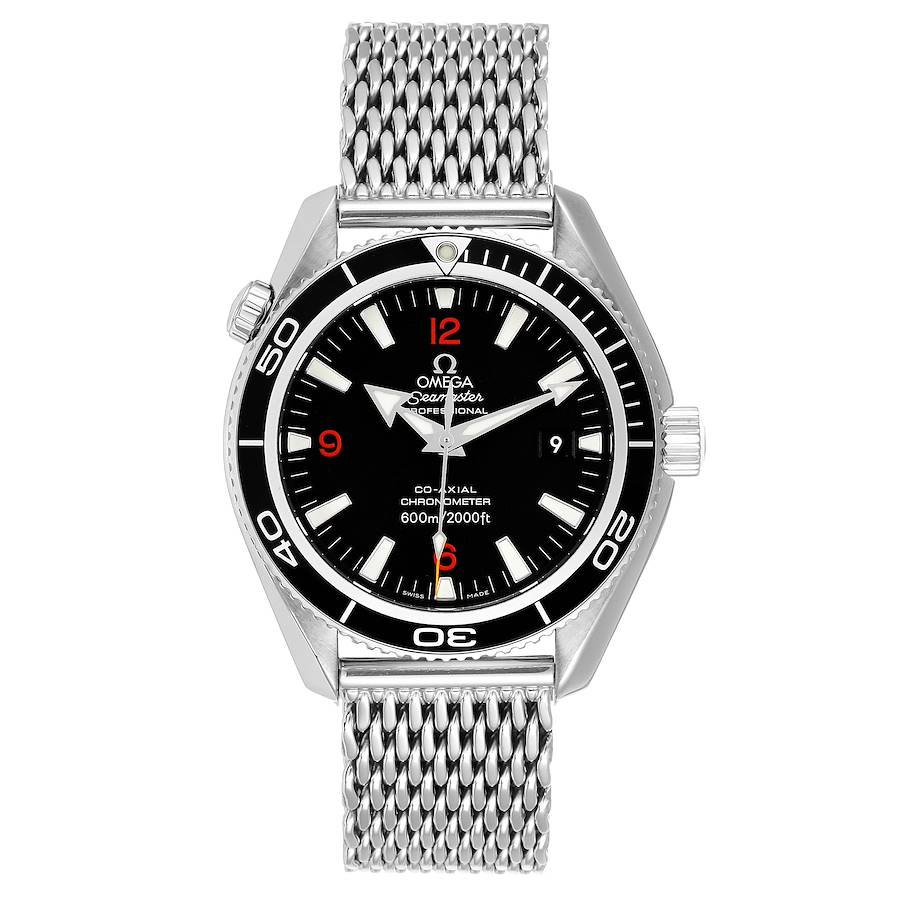 Omega Seamaster Planet Ocean 42 Co-Axial Steel Mens Watch 2201.51.00 SwissWatchExpo
