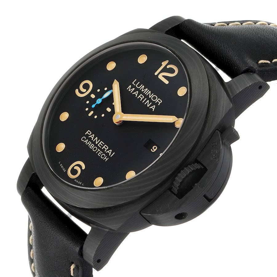 Panerai Luminor Marina 1950 44 Carbotech Watch PAM00661 PAM661 SwissWatchExpo