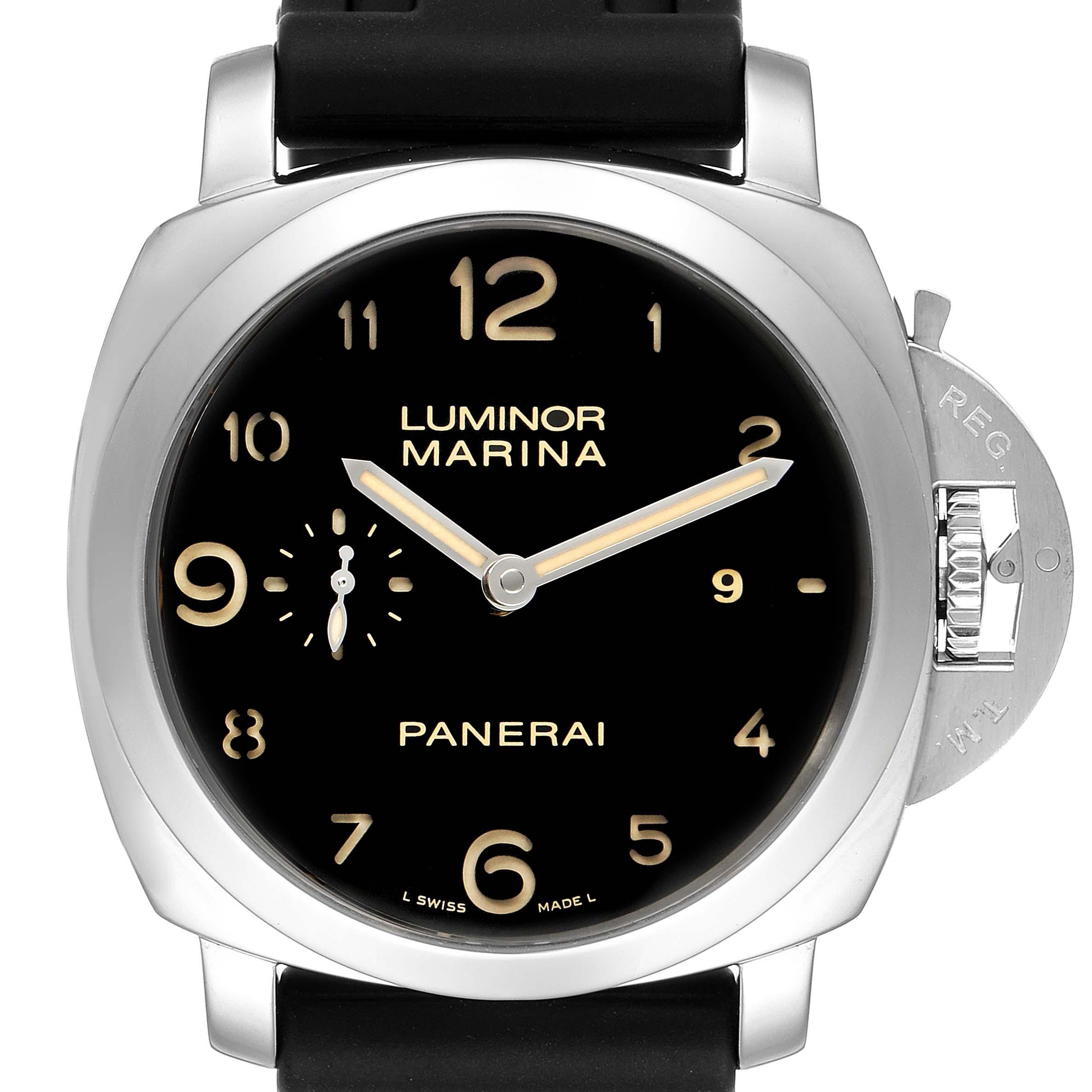 Panerai Luminor Marina 1950 44mm Mens Watch PAM359 PAM00359 Box Papers SwissWatchExpo