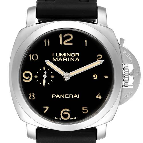 Photo of Panerai Luminor Marina 1950 44mm Mens Watch PAM359 PAM00359 Box Papers