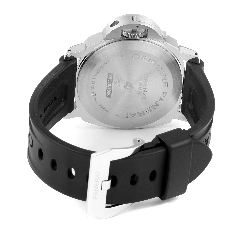 Panerai Luminor Marina 44mm White Dial Steel Mens Watch PAM00660 SwissWatchExpo