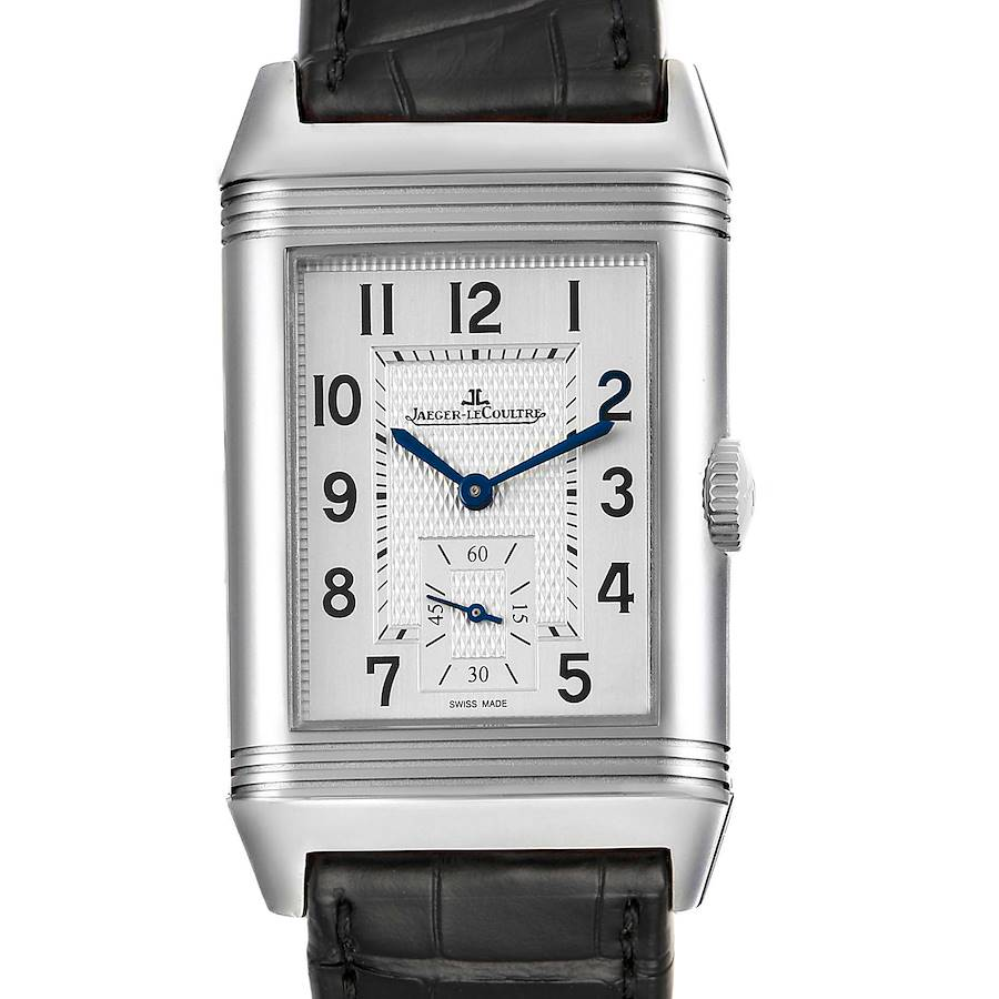 Jaeger LeCoultre Reverso Duo Day Night Watch 215.8.D4 Q3848420 Box Card SwissWatchExpo
