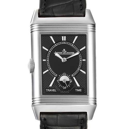 Photo of Jaeger LeCoultre Reverso Duo Day Night Watch 215.8.D4 Q3848420 Box Card