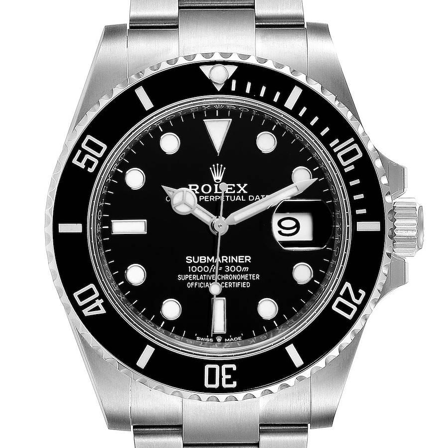 Rolex Submariner Cerachrom Bezel Oystersteel Mens Watch 126610 SwissWatchExpo