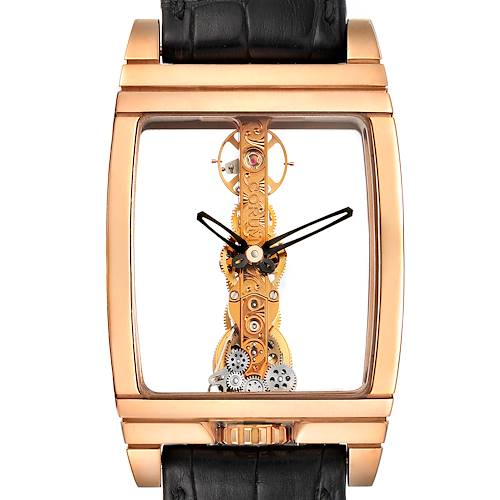 Photo of Corum Golden Bridge Classic Rose Gold Skeleton Mens Watch B113/01043
