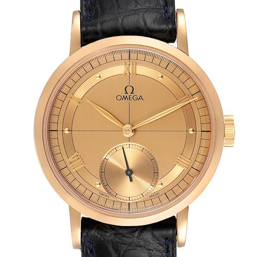 Photo of Omega Renaissance 1894 18k Rose Gold Limited Edition Mens Watch 5950.30.03