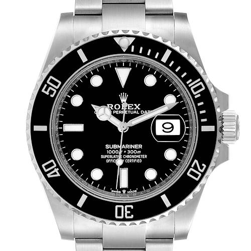 Rolex Submariner Cerachrom Bezel Oystersteel Mens Watch 126610 Box Card
