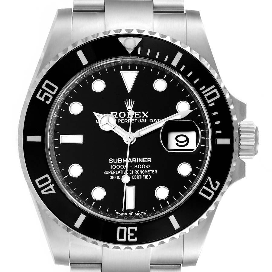 Rolex Submariner Cerachrom Bezel Oystersteel Mens Watch 126610 Box Card SwissWatchExpo