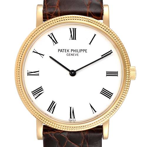 Photo of Patek Philippe Calatrava Yellow Gold Automatic Mens Watch 5120