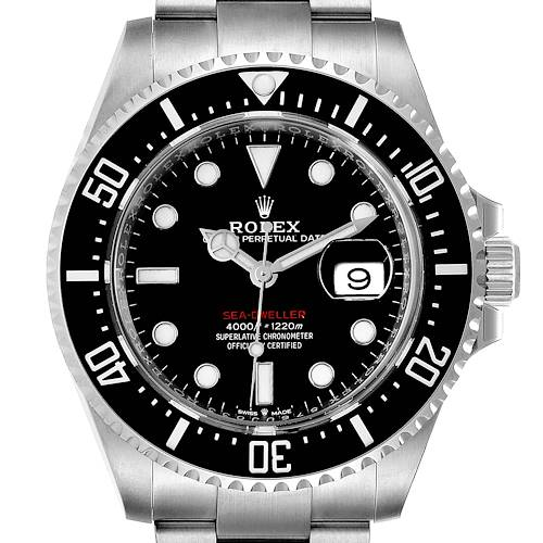 Photo of Rolex Seadweller 43mm 50th Anniversary Steel Mens Watch 126600 Box Card