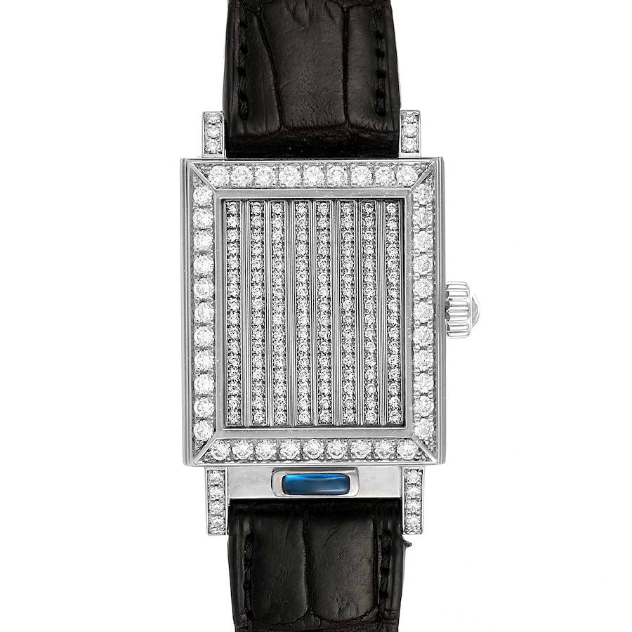 Vacheron Constantin Jalousie Shutter White Gold Diamond Ladies Watch 91002 SwissWatchExpo