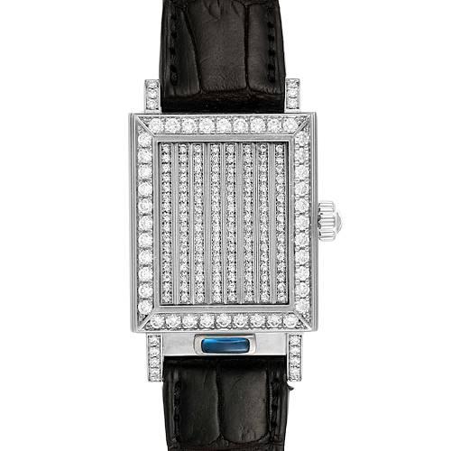 Photo of Vacheron Constantin Jalousie Shutter White Gold Diamond Ladies Watch 91002