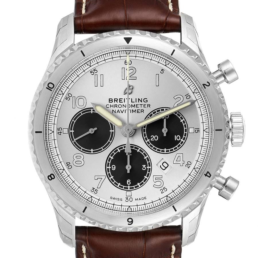 Breitling Navitimer Aviator 8 B01 Steel Mens Watch AB0117 Unworn SwissWatchExpo