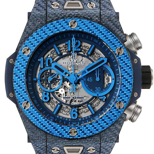 Photo of Hublot Big Bang Unico Carbon Chronograph Mens Watch 411.YL Box Papers