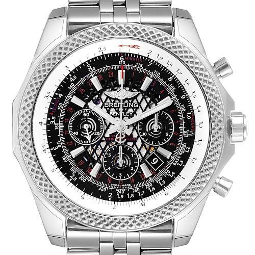 Photo of Breitling Bentley B06 Black Dial Chronograph Mens Watch AB0611 Unworn