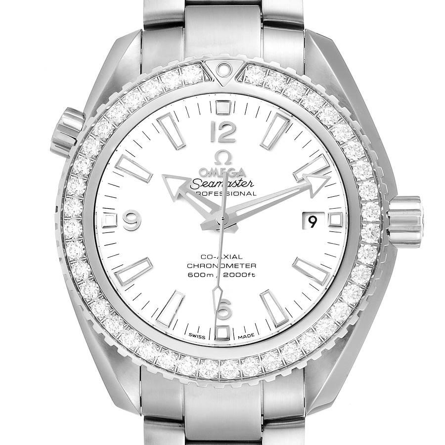 Omega Seamaster Planet Ocean 600M Diamond Watch 232.15.42.21.04.001 Unworn SwissWatchExpo