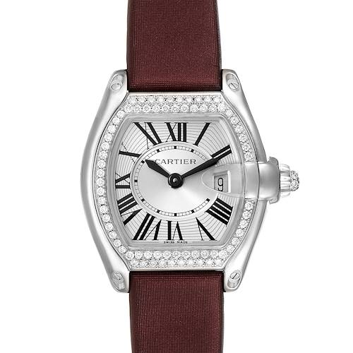 Photo of Cartier Roadster 18K White Gold Diamond Ladies Watch WE500260