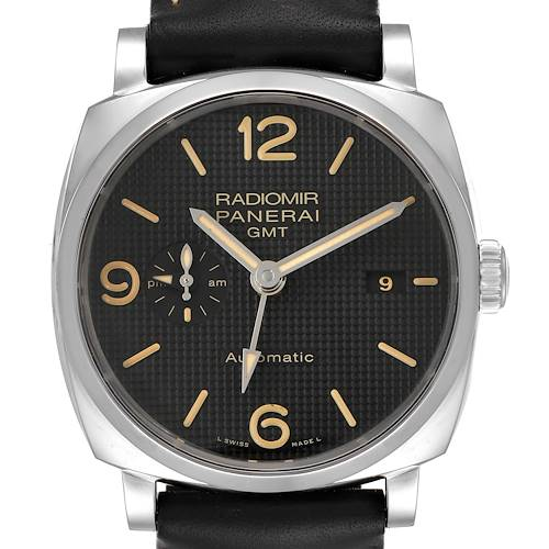 Photo of Panerai Radiomir 1940 Black Dial 45mm Steel Mens Watch PAM00627 Unworn